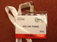 """Pitch Founder & MD is honored to be presenting  """"Crisis Management In Events"""" in a panel discussion with industry experts at the Singapore MICE 2013."""
