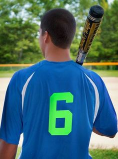 $30.00 per t-shirt. Call for available colors. #sports #shirts #baseball