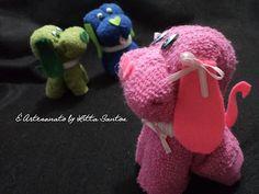 Cachorrinhos de toalha by Litta Santos