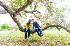 The tree is awesome! Good couple picture idea!