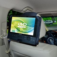 TFY Car Headrest Mount Holder for Sony BDPSX910 9 Inch Portable Blue-ray Player and Other 9 inch Swivel & Flip Style DVD Players //Price: $0.00//     #storecharger