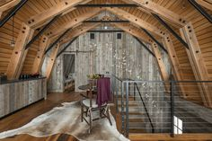 This Idyllic Wyoming Guest House Was Built to Look Like a Rustic Converted Barn  - CountryLiving.com