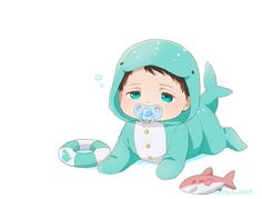 I will adopt this child and kept him and feed him and nurish him and bathe him and love him and kiss him and give him everything in the world because he's the most adorable baby ever Chibi Cat, Kawaii Chibi, Cute Chibi, Kawaii Anime, Anime Siblings, Anime Child, Sad Anime, Anime Guys, Bebe Anime
