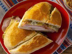 Cuban Sandwich Recipe made from leftover pork loin roast  : Food Network - FoodNetwork.com