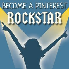 Become a Pinterest Star! (& achieve your marketing goals) Learn how in the Pinterest Savvy Rockstars group.