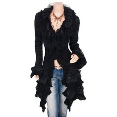 Wmwmnu Falbala Sweater Cardigan Women Long 2017 New Spring Autumn Fashion Ladies Cute Long Knitted Cardigans Ruffle For Female
