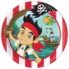 Jake & the Neverland Pirates Party Plates