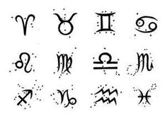 Astrology tattoo