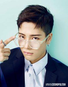 GOT7's Jackson goes colorful hipster for 'Cosmopolitan China'   allkpop.com