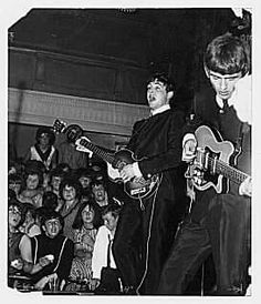 Live performance.  They stopped touring and performing live in 1966.