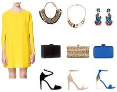 Look comunion vestido amarillo