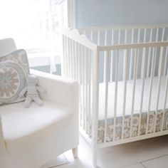 new arrivals picket fence bumper less crib sheet baby furniture for less