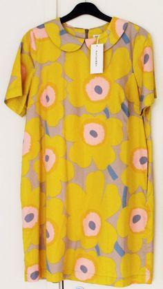 Marimekko Finland Pieni Unikko Ama dress, size 38 (M) #Marimekko