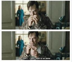 The most heartbreaking scene of The Imitation Game. Benedict Cumberbatch is bloody brilliant.