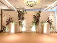 "Wedding Flowers & Decoration on Instagram: ""Backdrop _____________________________ Dec #hugweddingplanner Flowers #ommee_floral 👈 #backdropwedding #backdropflowers #flowers…"" Wedding Backdrop Design, Wedding Stage Design, Wedding Hall Decorations, Backdrop Decorations, Flowers Decoration, Backdrops, Indian Wedding Stage, Indian Wedding Receptions, Wedding Mandap"