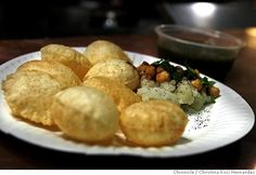 pani puri from Viks Chaat.. mouth is watering