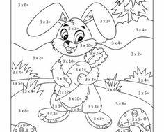 ära sig räkna, räkna, matte, pyssla och lek, bättre hälsa, pyssel för barn, barnpyssel, matte, matematik, mattepyssel, pyssel, knep och knåp, måla, målarbilder, målarbild för barn, räknemåla, multiplikation, treans multiplikationstabell, gångertabellen, kanin, djur, skogen, skogsdjur
