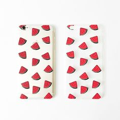 CLEARANCE❗️Watermelon iPhone 6 Plus/6Splus case Pattern, print, fruit, melon, green, cute, fancy, cool, summer •  Less than 1mm thick • Flexible case • Transparent with watermelon pattern slices print • Covers metal part only • No lip • doesn't cover screen at all • Photos are photographed by me, don't use • item's color can vary slightly from photos • NO OFFERS + NO TRADES Accessories Phone Cases