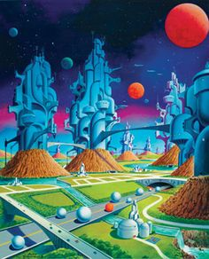 70s Sci-Fi   Alex Schomburg