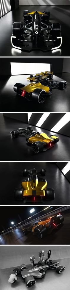 Fresh off its high at the Shanghai Motor Show this year, the Renault RS 2027 Vision concept car aims at setting a design direction for the future of racing. Our primary focus is on the new aesthetic that deviates from functionally aerodynamic designs to beautifully fluid forms that still manage to evoke a sense of speed. Made mainly out of recycled material, the new closed cockpit will be 3D printed given its complex design, and will be completely transparent.
