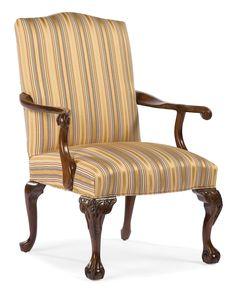 Ball and Claw Fabric Arm Chair | Wayfair
