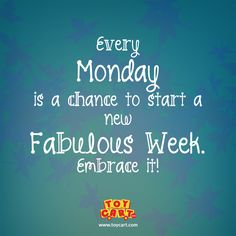 #HappyMonday Today Is Monday, Happy Monday, Neon Signs, Quotes, Beautiful, Quotations, Quote, Shut Up Quotes