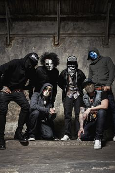 Seeing Hollywood Undead in 2016 for the first time. I CAN'T WAIT!