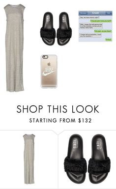 """weeken flow!!!!!!!!"" by neri-bhoo ❤ liked on Polyvore featuring T By Alexander Wang, Puma and Casetify"