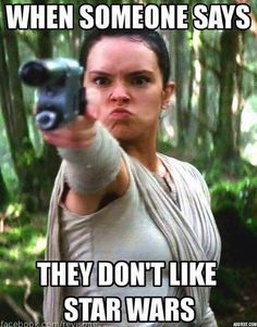 When someone says they don't like Star Wars. - Funny Duck - Funny Duck meme - - When someone says they don't like Star Wars. The post When someone says they don't like Star Wars. appeared first on Gag Dad. Star Wars Meme, Star Wars Film, Funny Star Wars, Star Wars Guns, Star Trek, Reylo, Star Wars Personajes, Star Wars Baby, Star War 3