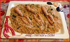 Ilrisotto alla crema di scampi è un primo piatto gustoso, profumato e delicato, un abbinamento di sapori classico e intramontabile.