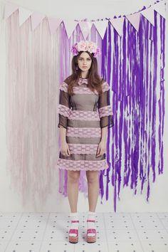 Lux Lace Dress – WND.LND Organza Dress, Silk Organza, Lace Dress, First Down, Rose Buds, Harajuku, Garden, Dresses, Fashion