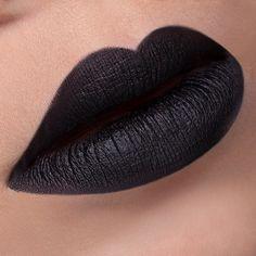 Black Swan Lipstick Matte #lipstick #lipstickmatte