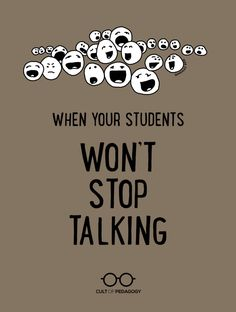 What they don't teach us in education courses is just how much students talk, and how hard it can be to quiet them down. Helpful classroom management tips! Classroom Discipline, Classroom Management Strategies, Classroom Procedures, Teaching Strategies, Classroom Consequences, Preschool Behavior Management, Behaviour Management, Instructional Strategies, Middle School Classroom