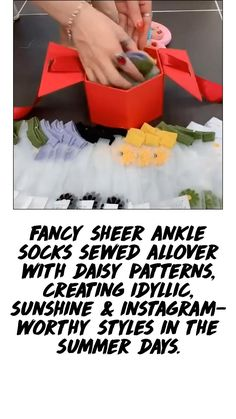 Daisy Pattern, Instagram Worthy, Spring Sale, Ankle Socks, Summer Days, Fancy, Sewing, Create, Style