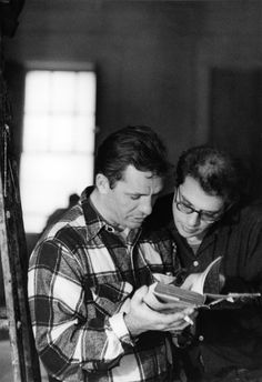Jack Kerouac and Allen Ginsberg, 1950s  Writers: poets of the beat generation