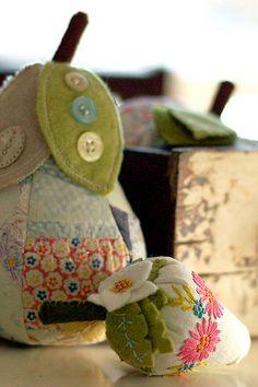 craft, vintage quilts, pattern, felt, pincushion