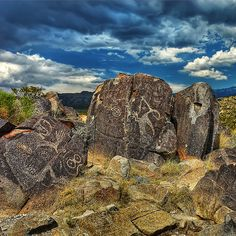 New Mexico Petroglyph; Spirits in Stone | Austin Photographe… | Flickr