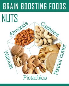 All these nuts help with your brain power. Learn why they are amazing.