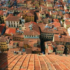 terracotta rooftops | Flickr - Photo Sharing! Florence, province of Florence Tuscany