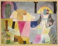 Klee, Paul (1879-1940) - 1919 Black Columns in Landscape