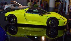 Acid Green Porsche 918 Steals The Show At Top Marques Monaco