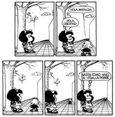 Mafalda y Libertad