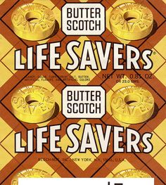 Life savers Butterscotch! I loved these!