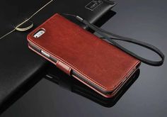 2014 Fashion Flip Leather Cover Case for Apple iPhone 6 Top Quality Brand Original Simplicity with Card Slot Classic Shockproof