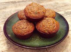 Almond Zucchini Muffins — Eleat Sports Nutrition, LLC