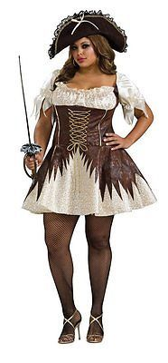 halloween costumes women buccaneer pirate halloween costume womens standard queen size dress sz 18 - Pirate Halloween Costume For Women