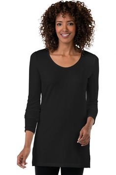 Multiples for TravelSmith Relaxed V-Neck Tunic: #Travelsmith $49.00