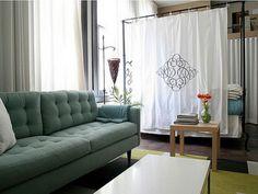 Studio Apartement Dividers Ideas - http://www.fuzter.com/5082/studio-apartement-dividers-ideas/ #homeideas #homedesign #homedecor
