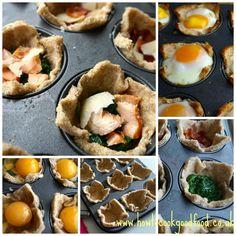 breakfast in bread www.howtocookgoodfood.co.uk #breakfast #brunch #food