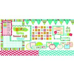 """Classroom+In+A+Box+-+Dots+on+Turquoise+-+Here's+the+perfect+way+to+get+your+classroom+decorated+in+one+quick,+easy+step!+Our+Classroom+in+a+Box+features+all+the+necessities+to+decorate+your+class+for+the+beginning+of+school+or+to+change+out+anytime.+All+the+essentials+come+shipped+in+one+box+for+one+low+price!+This+set+from+Creative+Teaching+Press+features+the+Dots+on+Turquoise+theme+and+includes+bulletin+board+sets,+trimmers,+nameplates,+and+letters. <br> <br> <p><span+style=""""color:+#ff0..."""